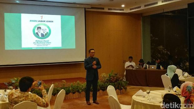 Kumpulkan Donatur, Ridwan Kamil Gelar Gala Dinner dengan Pengusaha