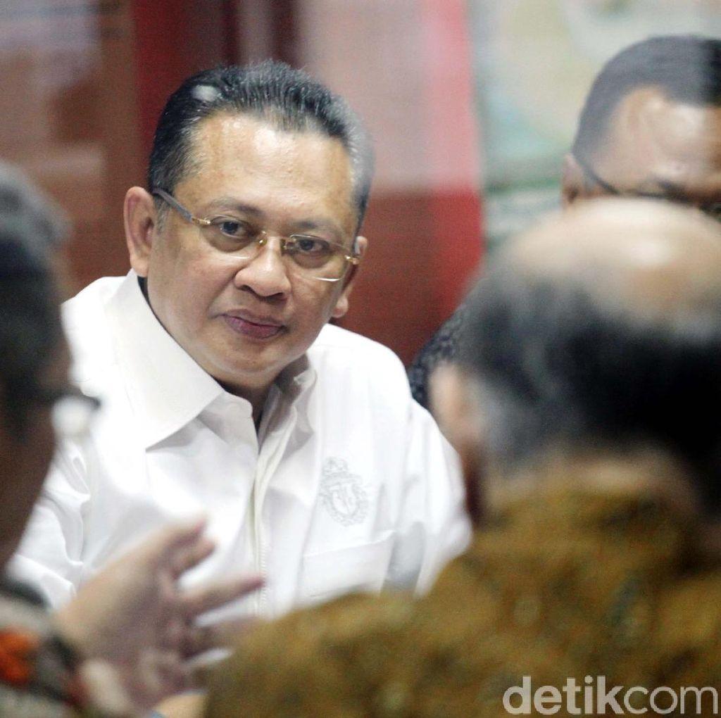 Ketua DPR Bamsoet Tak Setuju Pengguliran Hak Angket Iriawan