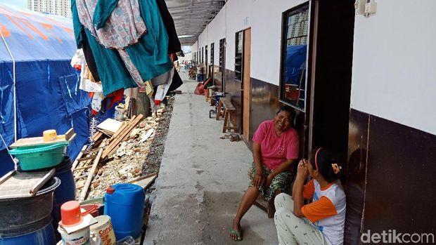 Warga Kampung Akuarium sudah Tempati Shelter Meski Belum Ada Listrik
