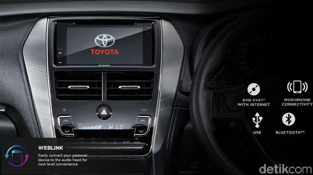 Interior bagian audio mobil