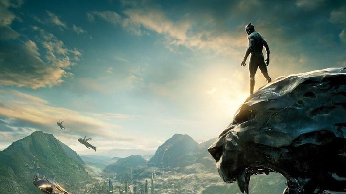 pemandangan black panther