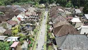 Foto Drone: Desa Tercantik di Bali