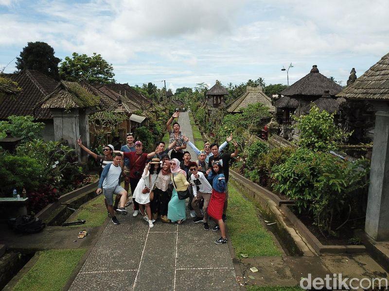 Destinasi yang masih orisinil itu bernama Desa Adat Penglipuran. Disebut-sebut juga sebagai yang tercantik se-Indonesia! (Muhammad Zaky Fauzi Azhar/detikTravel)