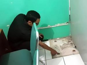 Kecele, Perampok Bank di Sukabumi Gondol Brangkas Kosong