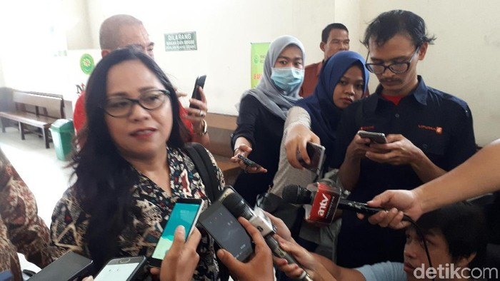Kuasa hukum Ahok, Josefina Agatha Syukur (Foto: Haris Fadhil/detikcom)