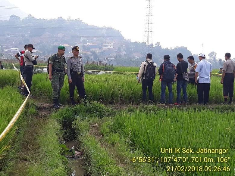 Siswa SMK di Sumedang Ditemukan Tewas di Tengah Sawah