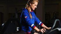Foto: Gaya Olahraga Atlet Olimpiade Cantik untuk Jaga Kebugaran