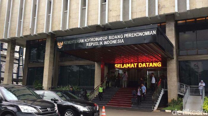 Kantor Menko Perekonomian/Foto: Puti Aini Yasmin