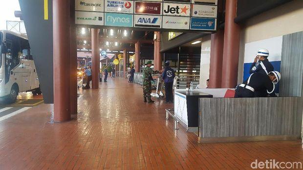 Suasana di Terminal 2 Bandara Soekarno Hatta