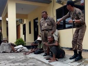 Antisipasi Kasus di Lamongan, Orang Gila di Kota Mojokerto Ditangkap