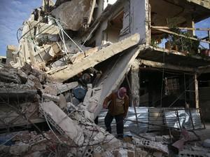 296 Orang Tewas dalam 3 Hari, Warga Ghouta: Kami Tunggu Giliran Mati