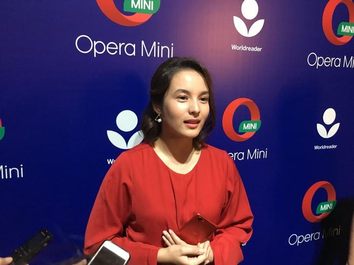 Chelsea Islan (detikINET/Agus Tri Haryanto)