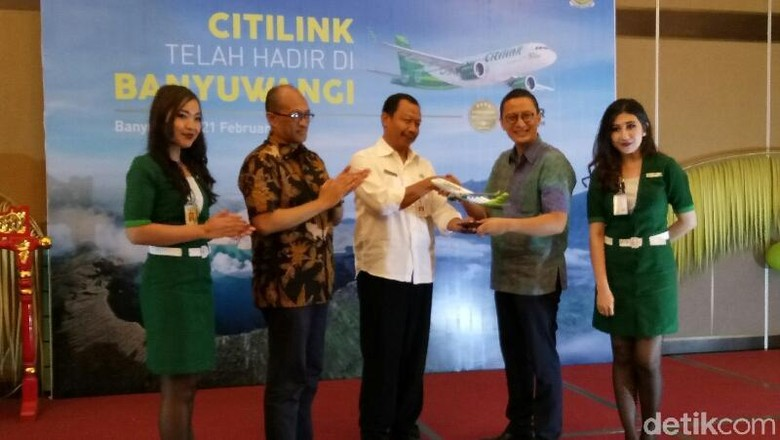 Asyik, Citilink Segera Buka Penerbangan Internasional ke Banyuwangi