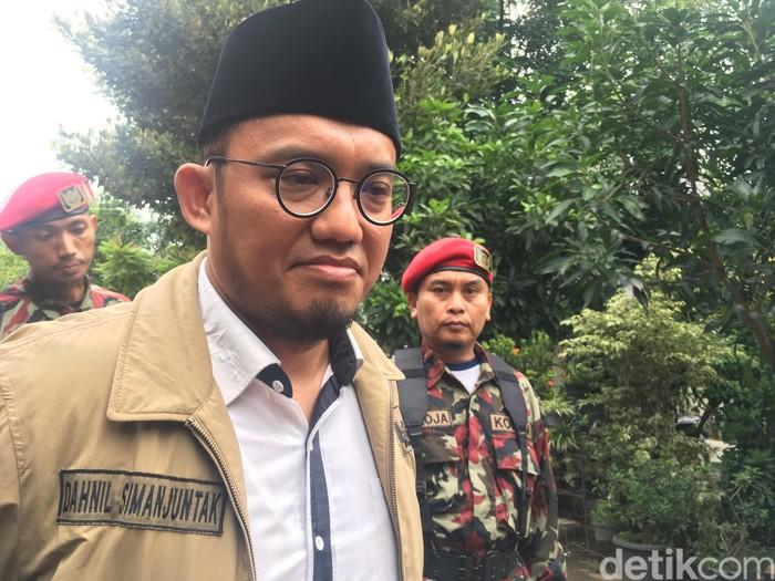 Ketum PP Pemuda Muhammadiyah Dahnil Anzar Simanjuntak. (Indra-detikcom)