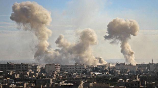 Timur Ghouta masih terus dibombardir pemerintah meski sudah banyak korban sipil berjatuhan.