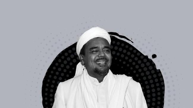 Habib Rizieq Shihab/Foto: Zaki Alfarabi
