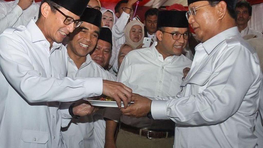 Giliran Prabowo-Sandi Tes Kesehatan, Apa Ya Makanan Kesukaan Mereka?
