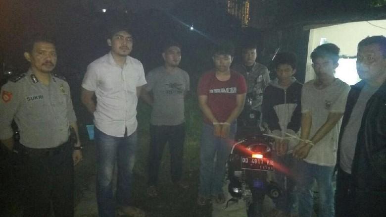 31 Kali Beraksi, 3 Jambret Muda Ditangkap Polisi di Makassar