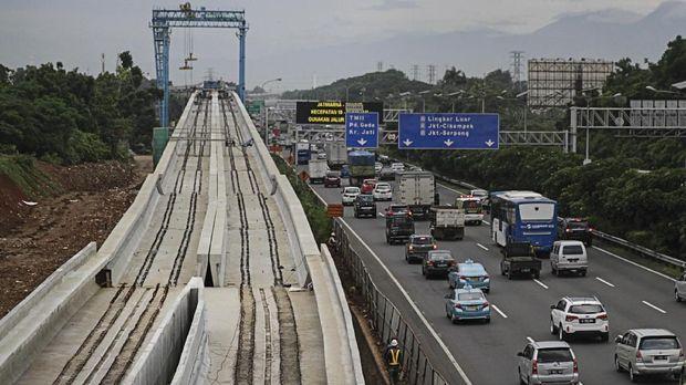 Wapres JK Ragu Proyek LRT Bakal Rampung Jelang Asian Games