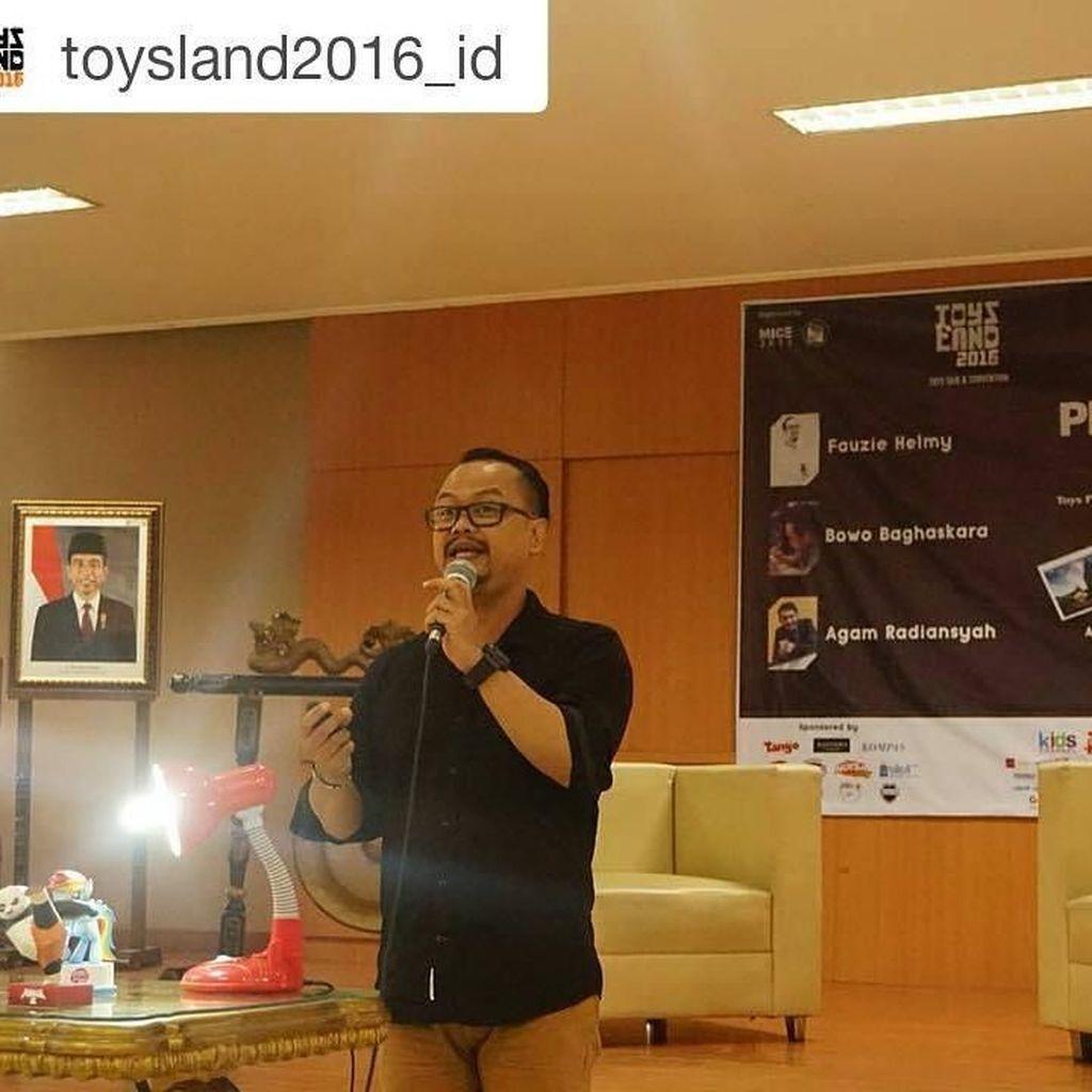 Peduli Satwa Liar, Pria Temanggung Bikin Foto Mainan