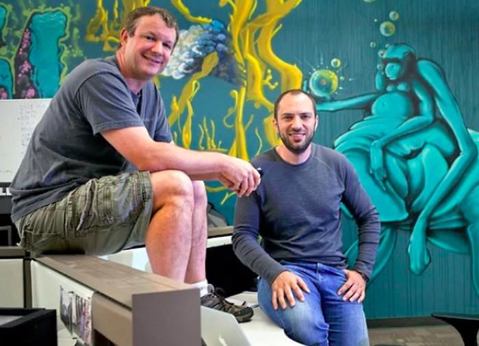 (Kiri-kanan) Duet pendiri WhatsApp Brian Acton dan Jan Koum. Foto: Istimewa