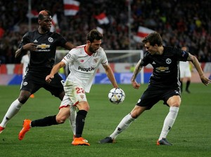 Sevilla-MU Berakhir Imbang Tanpa Gol