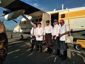 Puan, Nila, Muhadjir, Idrus dan Moeldoko Kunjungi Asmat