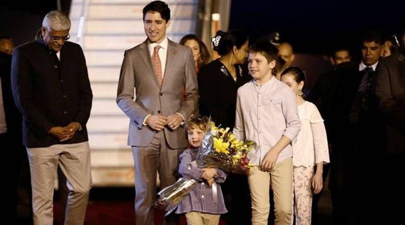 Justin Trudeau, Perdana Menteri Kanada yang terkenal dengan ketampanannya berkunjung ke India bersama keluarganya pada 18 Februari lalu. (Reuters)