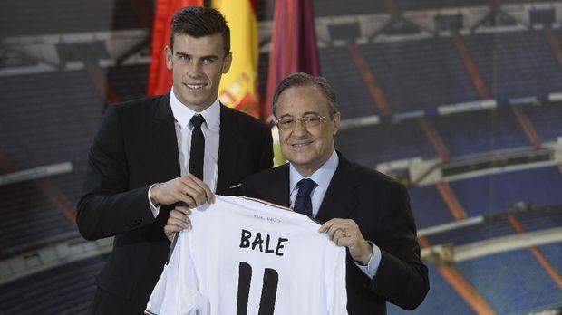 Gareth Bale salah satu pemain dengan gaji tertinggi di skuat Real Madrid.