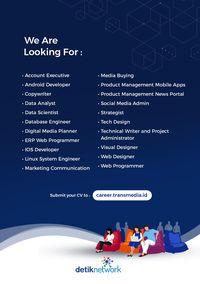 Tertarik Bekerja di Dunia Digital? Yuk Daftar dan Ikut Program Ini