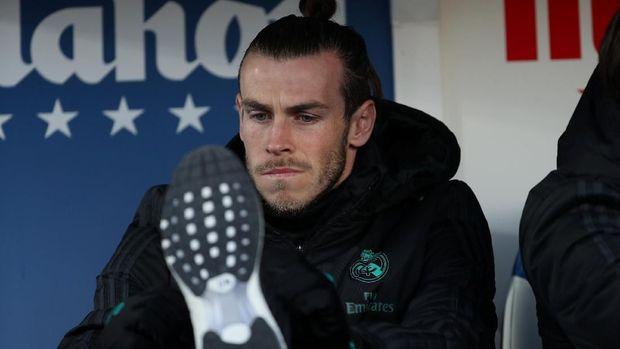 Gareth Bale mulai uring-uringan karena lebih banyak dicadangkan.