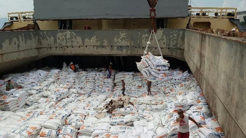 421.000 Ton Beras Impor Masuk RI, Sisa 79.000 Ton