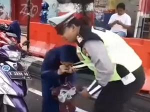 Emak Penggigit Tangan Polisi di Kudus Tetap Akan Diproses Hukum