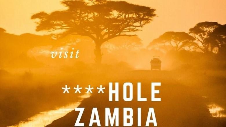 Foto: Poster promosi wisata Zambia (dok. Zambia Tourism)