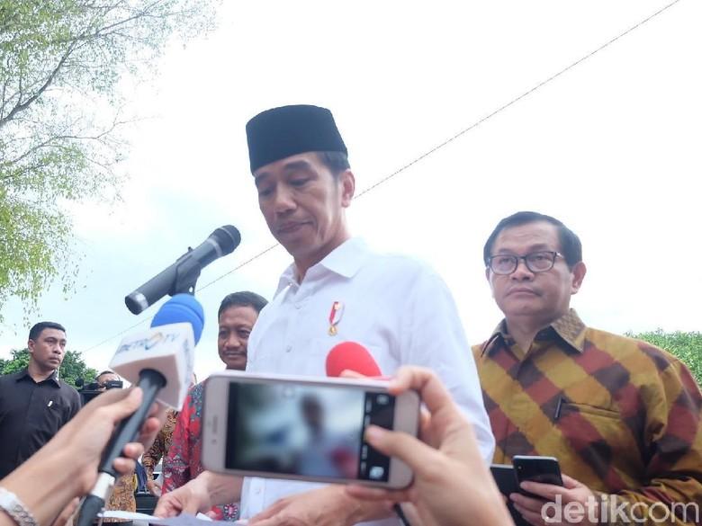 Bareng Habib Luthfi, Jokowi Hadiri Festival Sholawat Piala Presiden