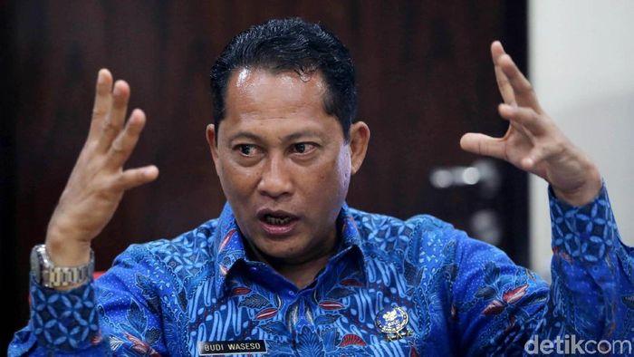 Dirut Bulog Budi Waseso/Foto: Agung Pambudhy