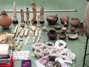 Polisi Eropa Gagalkan Penyelundupan 41 Ribu Benda Budaya Kuno