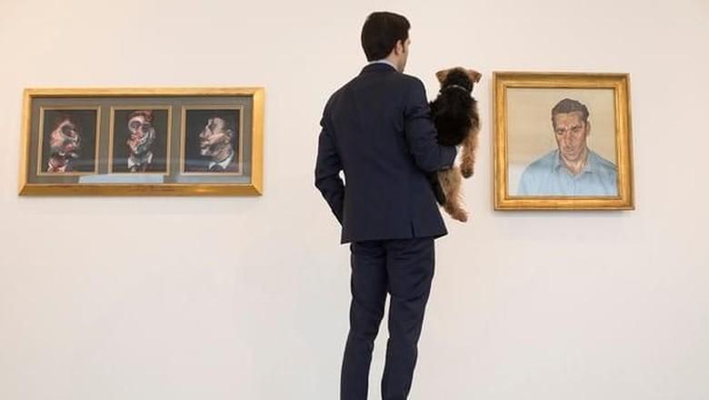 Lukisan Kekasih Gelap Francis Bacon Dipajang di London