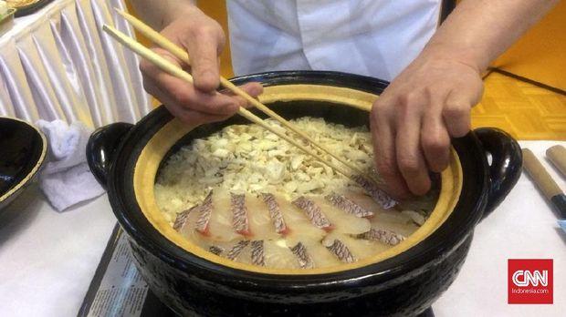Nasi Ikan Tai Taimeshi