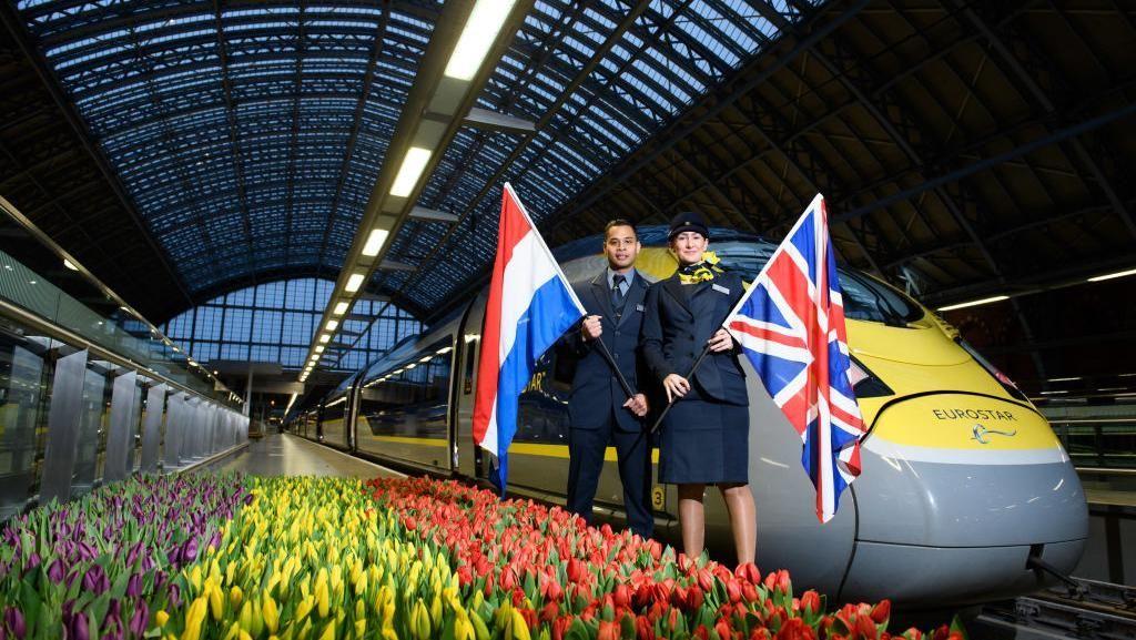 Kereta Eurostar Siap Meluncur Lagi ke Amsterdam dan Paris