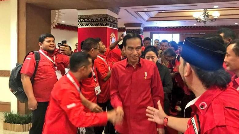 Sambutan Parpol akan Pengumuman Jokowi Kembali Jadi Capres PDIP
