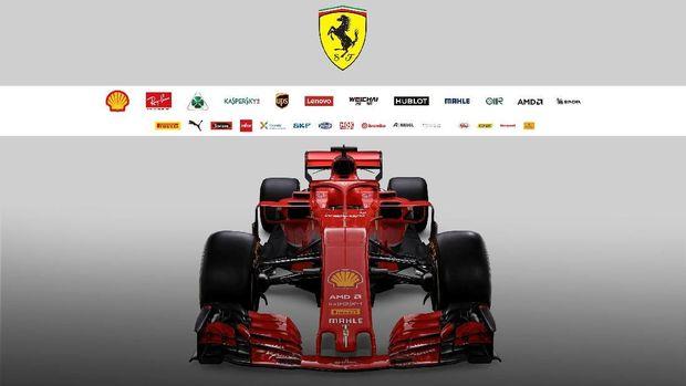 Ferrari Luncurkan Mobil Baru untuk F1 2018