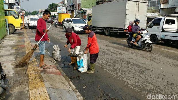 Malam Diterjang Banjir, Begini Kondisi Pagarsih Bandung Pagi Ini