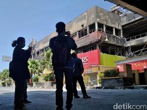 Selidiki Kebakaran Matahari Mall Kudus, Polisi Periksa 6 Saksi