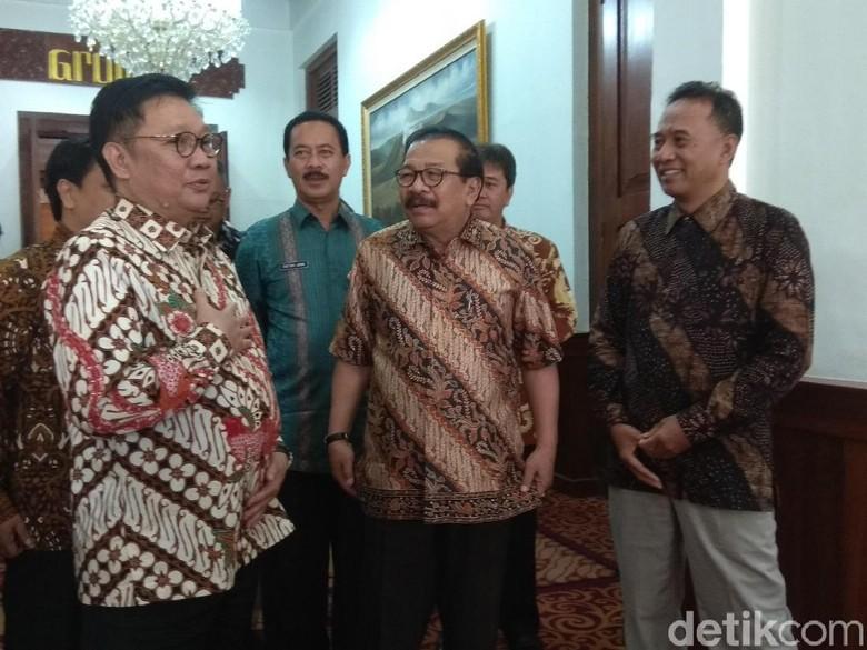 Soal Amankan Stok Beras Nasional, KPPU Bertemu Gubernur Soekarwo