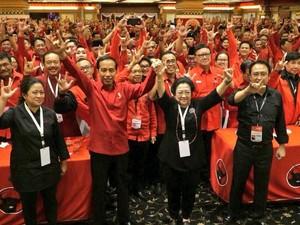 Ditunjuk Mega Jadi Capres PDIP, Jokowi: Saya Ucapkan Terima Kasih