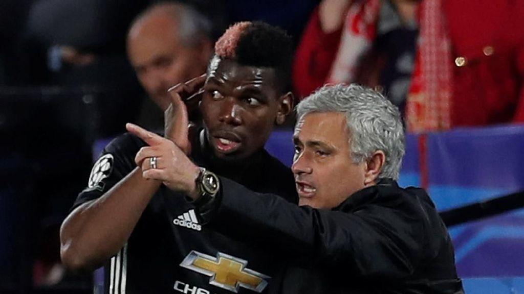 Pogba Lontarkan Komentar Penuh Isyarat, Ini Tanggapan Mourinho