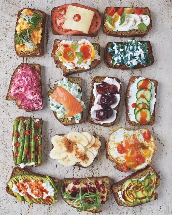 Melihat foto sandwich hasil karya Chef Jamie Oliver, Cha Cha merasa terinspirasi dan ingin membuatnya di rumah. Wah hobi masak juga ya Cha Cha? Foto: instagram
