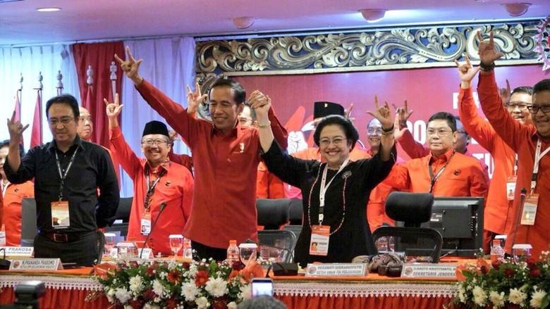 Diumumkan Jadi Capres, Jokowi Yakin PDIP Solid