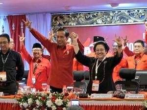Didukung PDIP dan 7 Parpol, Seberapa Kuat Jokowi di Pilpres 2019